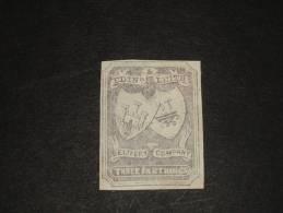 Parcel Delivery-avec Gomme Charniere Papier - 1845-47 Emissions Provisionnelles