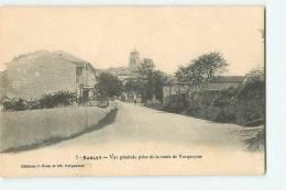 SABLET : Vue Générale Prise De La Route De Vacqueyras. 2 Scans. Edition Brun - France