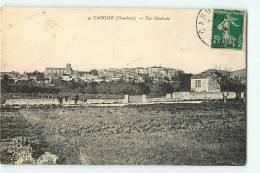 CAROMB : Vue Générale. 2 Scans. - Frankreich