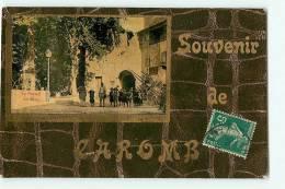 CAROMB : Souvenir De Caromb, Le Portail Du Rieu. 2 Scans. Edition Chanut - Frankreich