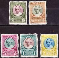 1928 Kinderhilfe : Prinzessin Marie Adelheit Kompletter Satz  Ohne Falz Michel 208 / 212 - Ongebruikt