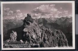 Blick Vom Schafschartl Hermannskarturm In Der Hornbachkette Auf Die Lechtaler Alpen - Österreich