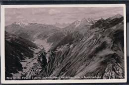 Blick Von Der Parseier Scharte Zur Arlbergbahn Und Ansbacher Hütte - Autriche