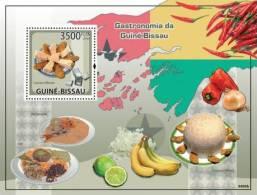 gb9409b Guinea Bissau 2009 Gastronomia s/s Fruit