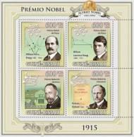gb9620a Guinea Bissau 2009 Nobel Prize 1915 s/s