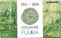 Deutschland - O 0562 12/93 - 5.000ex  - 6 DM - FULDA -Der Garten Hessens- 1.Hessische Landesgartenschau - Voll-unused-mt - O-Series : Series Clientes Excluidos Servicio De Colección