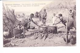 Missions D'Afrique  --  Une Brasserie - La Bière Est Composée De Maïs Et De Blé ; Cette Boisson Est Capiteuse - Cartes Postales
