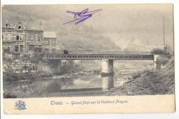 E1180  -  TROOZ   -  grand pont sur la Vesdre � Prayon
