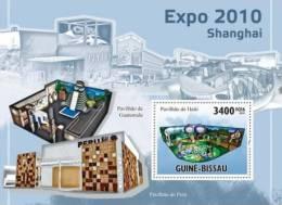 gb10514b Guinea Bissau 2010 Shanghai Expo s/s