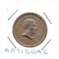 URUGUAY    10 CENTIMOS 1953 ARTIGUAS        Lot N° 1 - Uruguay