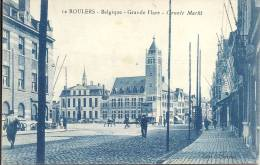 ROULERS - Grande Place - Groote Markt - Edit. C. Devroe - Roeselare