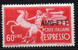 1950 Trieste A - Espresso N 6 Integro MNH** - 7. Triest