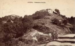 ALGERIE-AZAZGA- Habitations  Kabyles-animée - Unclassified