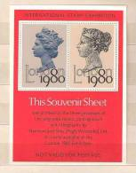 GB 1980 INTERNATIONAL STAMP EXHIBITION LONDON 1980 MS Mint - Blocchi & Foglietti