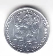 @Y@   Tsjechoslowakije  5 Haleru  1977  Unc    (C607) - Tchécoslovaquie