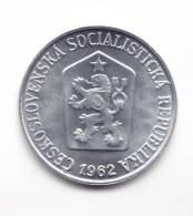 @Y@   Tsjechoslowakije  5 Haleru  1962  Unc    (C538) - Tsjechoslowakije