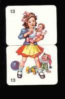 Image Puzzle Humour / Fillette Et Bébé / Allaitement ?? Biberon De Lait ?? / Polichinelle ?? // IM 94/2 - Non Classés