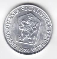 @Y@   Tsjechoslowakije  5 Haleru  1974  Unc    (C559) - Tchécoslovaquie