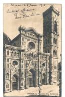 10609    FIRENZE    CATTEDRALE   1905 - Italia