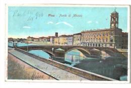 10610      PISA   PONTE DI MEZZO     1906 - Italia