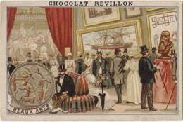 CHROMO Chocolat REVILLON - Beaux Arts  - 2 Scans - Revillon