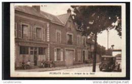 45 - PUISEAUX - AVENUE DE LA GARE - Puiseaux
