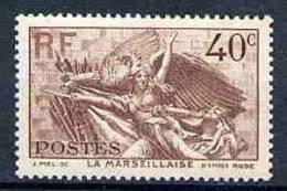 #            Oo      Yvert N°  315 - La Marseillaise - Neuf** Gomme D'origine Garantie OO - Nuevos