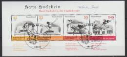 Bundespost Mi.block 71 Fdc Gestempeld - [7] West-Duitsland