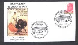6.- ESPAÑA 2012. MATASELLO ESPECIAL. PLAZA DE TOROS DE LINARES. COSO. TOROS. TORERO - Koeien