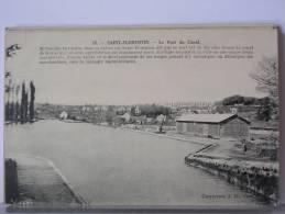 SAINT FLORENTIN (89) - LE PORT DU CANAL - 1935 - Saint Florentin