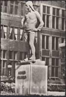 ANTWERPEN ANVERS JAREN ANNEES 60 Echte Fotografie: DE BUILDRAGER / MEUNIER : ARBEID = VRIJHEID - Antwerpen