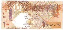 QATAR TEN  RIYAL BANKNOTES - Qatar