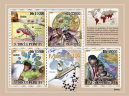 st9409a S.Tome Principe 2009 Malaria s/s