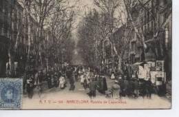 (BCN235)  BARCELONA . RAMBLA DE CAPUCHINOS . ++ A.T.V. 199 - Barcelona