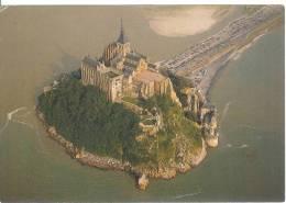 LE MONT SAINT MICHEL - Vue Aérienne - Le Mont Saint Michel