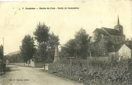 ASQUINS - N° 8 - Entrée Du Pays - Route De Sermizelles  - ED : H. Couron, Avallon - Francia