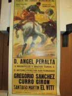 Corrida/ Plaza De Toros Monumental/Grandosia Corrida De Toros/Sanchez/Viron/El Viti//1962   AFF3 - Affiches
