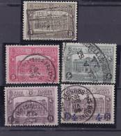 Belgium1929: Michel Postpaketmarken3-7used Catalogue Value 30Euros - Belgium