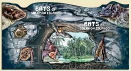 slm12112c Solomon Is. 2012 Bats s/s