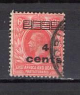 British East Africa 1919 Michel 59 Definitives 4 C Overprint Used - Kenya, Uganda & Tanganyika