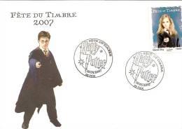 Fete Du Timbre Theme Harry Potter Obl De FOIX 10 03 2007 Timbre Bleu Hermione