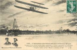 AEROPLANE DES FRERES WILBUR ET ORVILLE WRIGHT - Piloten