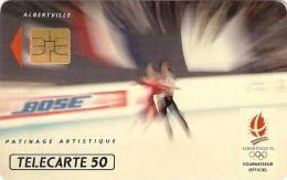 *FRANCIA - ALBERTVILLE '92* - Scheda Usata - Francia