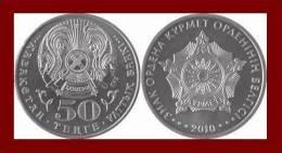KAZAKHSTAN 50 TENGE ★ ORDER OF RESPECT 2010 ★ MINT UNC - Kazakhstan
