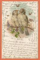 S225, Moineaux, Précurseur,  Circulée 1901 - Vogels