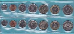 MAURICIO  (ISLAS)    Juego/Set  7  Monedas/Coins   SC/UNC       DL-8030 - Mauritius