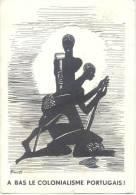 JOURNEE DE SOLIDARITE AVEC LES PEUPLES ET LES PATRIOTES DES COLONIES PORTUGAISES 3 AOUT 1960 EDITE PAR LE MOUVEMENT POPU - Angola
