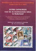 Liechtenstein 3rd Salon In The Netherlands In Kerkrade - Catalogue - 2005 - Kronieken & Jaarboeken