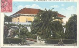RESIDENCE OF GLORIA SWANSON BEVERLY HILLS CALIFORNIA CPA CIRCULEE 1926 RARE TBE