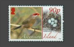 Ascension 2008, Waxbill Egg / Astrild Oeuf Oiseau - Bird MNH ** - Zangvogels